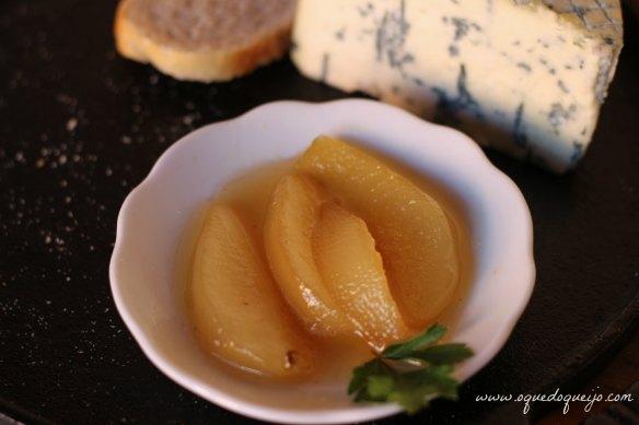 Compota de pera e Gorgonzola