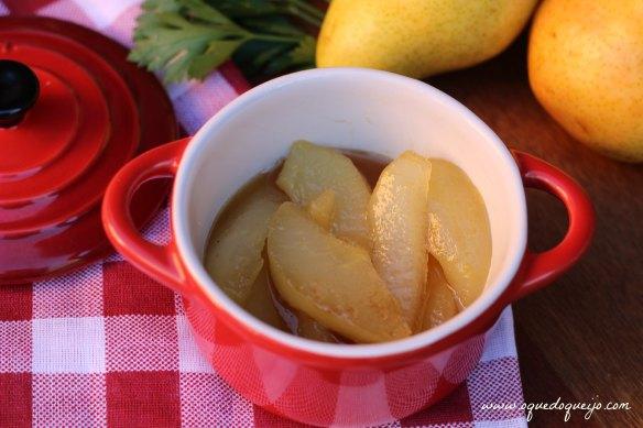 Compota de pera gorgonzola