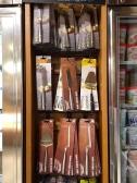 Acessórios e facas especias para queijo.